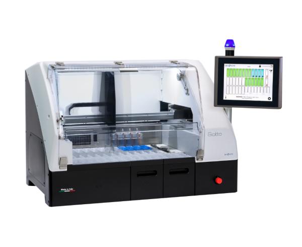自动染色机